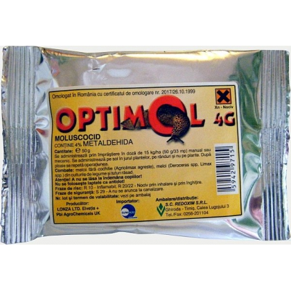 Optimol 4 G ( 50, 100, 300 grame si 15 kg )